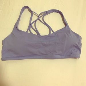 Lulu Lemon Free to be Wild Bra - Periwinkle